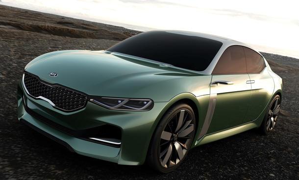 kia novo 2015 seoul motor show coupe studie kompaktwagen
