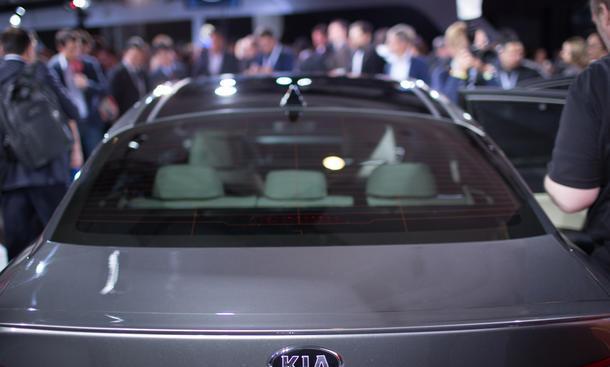 kia optima 2015 mittelklasse premiere limousine new york auto show neuheiten