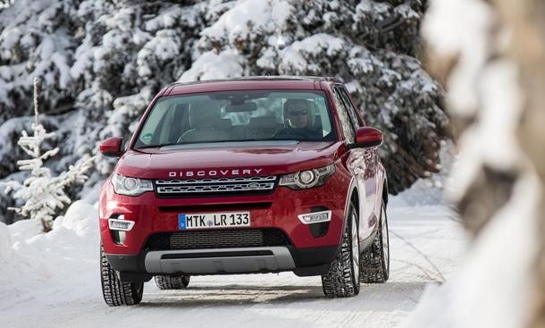 Land Rover Discovery Sport Diesel Ingenium Vierzylinder Verbrauch