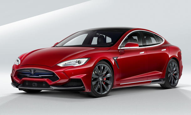 Larte Design Tesla Model S Elektroauto Tuning Bilder Top Marques Monaco 2015