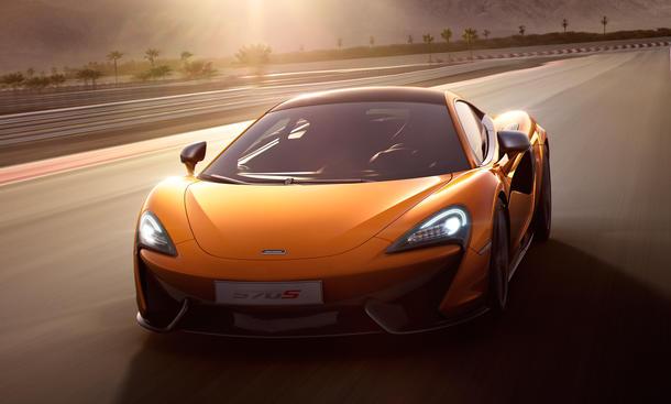 McLaren 540C Preis Shanghai Motor Show 2015 Sports Series Sportwagen Coupe
