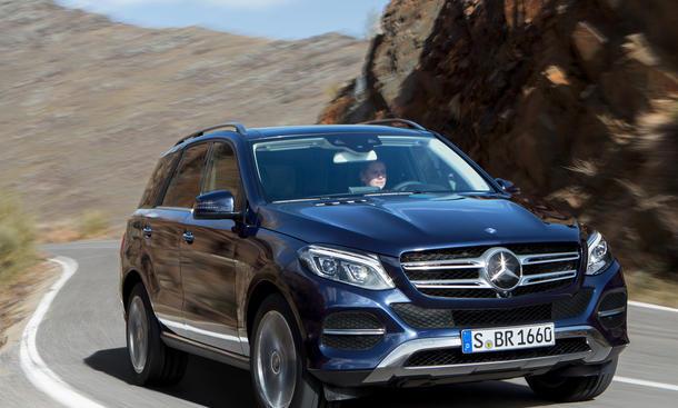 Mercedes GLE Preis 2015 Preise Marktstart SUV
