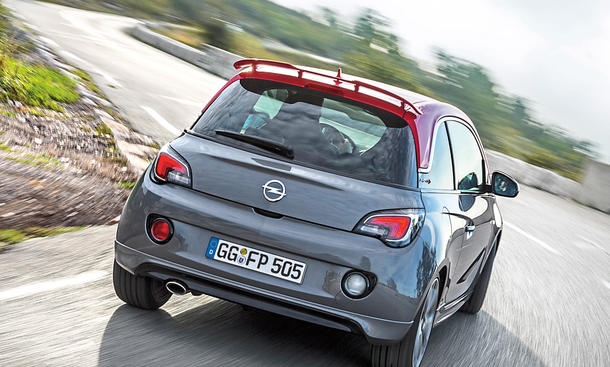 opel adam s topmodell im test. Black Bedroom Furniture Sets. Home Design Ideas