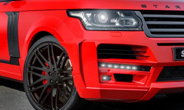 range rover tuning pickup startech suv premiere schanghai geländewagen