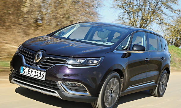 Renault Espace Initiale 2015 SUV Van Crossover Test Fahrbericht Bilder