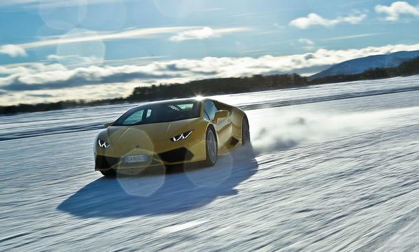 Faszination Auto Lamborghini Huracan Schweden