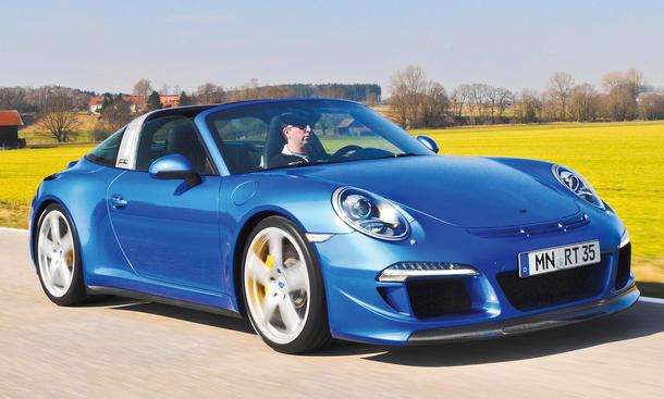 RUF Turbo Florio Porsche 911 Sportwagen Targa Test Fahrbericht Bilder