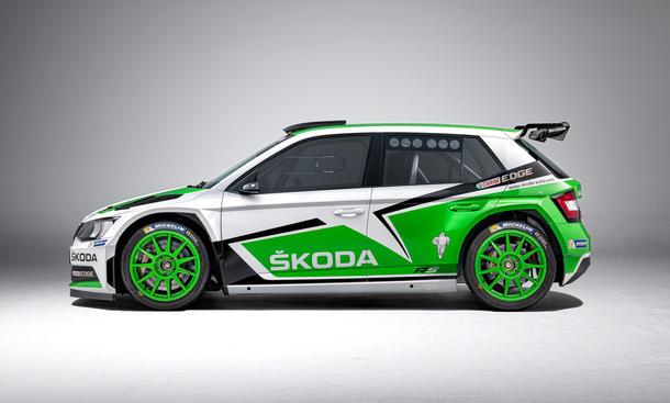 Skoda Fabia R 5 Rallye auto wrc allradler
