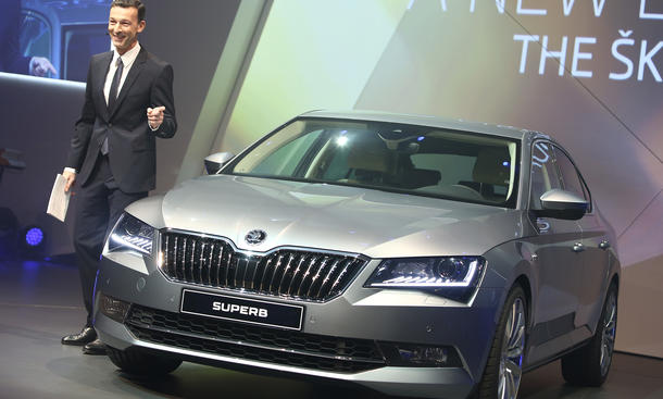 Skoda Superb 2015 Preis Mittelklasse Limousine Preise