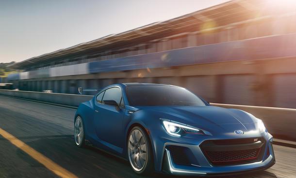 Subaru STI Performance Concept 2015 New York Auto Show BRZ Rennwagen