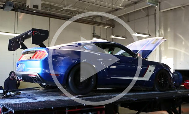 Video: Ford Mustang GT als Tuninggeschoss