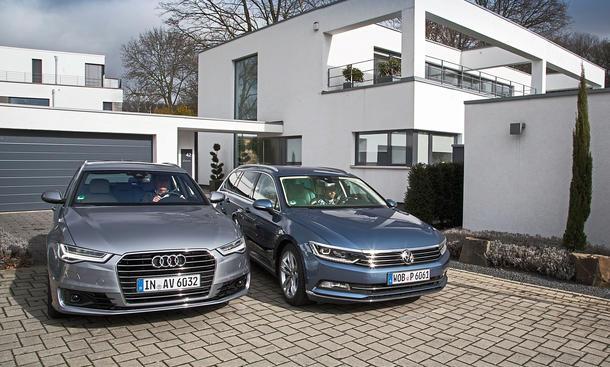 Audi A6 Avanat VW Passat Variant