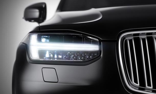 volvo xc90 front scheinwerfer 2015 absatzrekord suv neuheiten