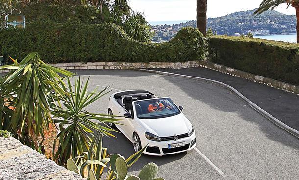 VW Golf R Cabrio Kompaktklasse Test