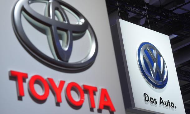 VW Toyota Absatz 2015 1. Quartal Verkaufszahlen