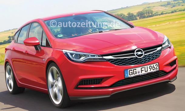 Opel Astra 2015 Kompaktklasse Neuheiten