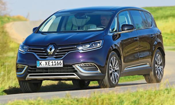 Renault Espace TCe 200 EDC Initiale Van Crossover SUV Siebensitzer Test