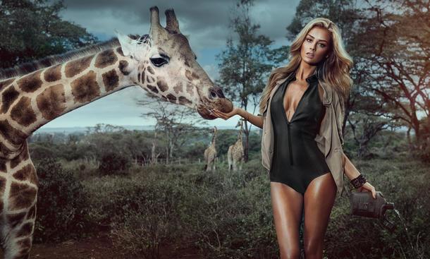 Miss Tuning Kalender 2015 Erotik Veronika Klimovits Afrika