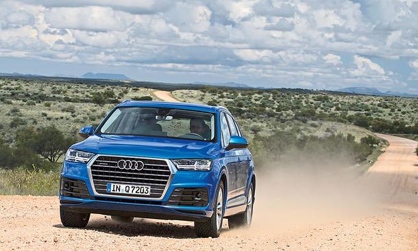 Fahrbericht Audi Q7 2015 3.0 TFSI 333 PS