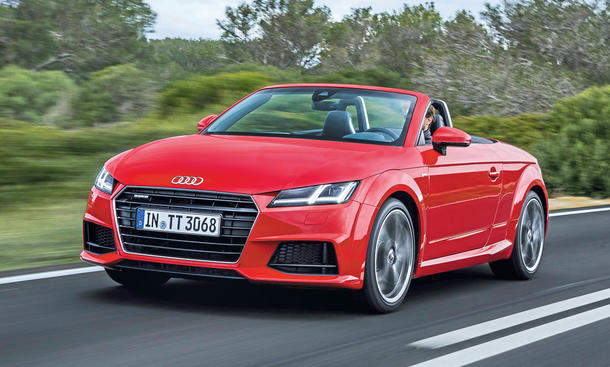 audi tt roadster 2 0 tfsi quattro test. Black Bedroom Furniture Sets. Home Design Ideas