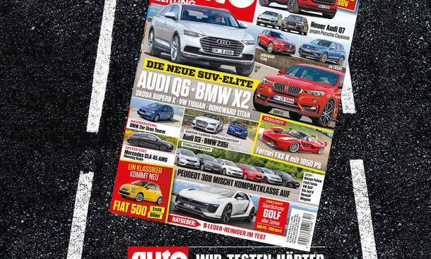 Auto Zeitung 12/2015 Heft-Vorschau Cover