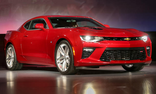 Chevrolet Camaro 2016 Europa US-Car Deutschland