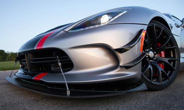 dodge viper acr 2015 rennwagen usa neuheiten bilder powercar spoilerlippe