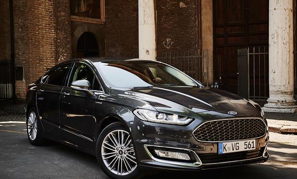 Fahrbericht Ford Mondeo Vignale 2015 Premium Mittelklasse 2.0 TDCi Bi-Turbo-Diesel
