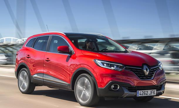 Fahrbericht Renault Kadjar 2015 Kompakt-SUV Nissan Qashqai