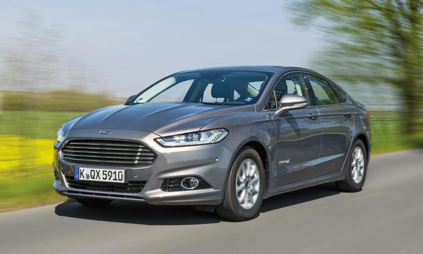 Ford Mondeo Hybrid Eeco-Mobilität Mittelklasse Limousine Test
