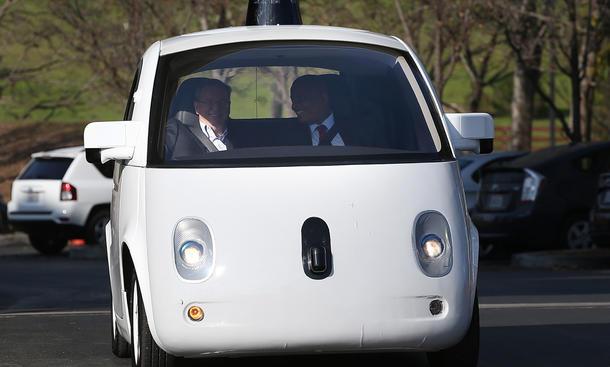 selbstfahrendes auto google unfallstatistik sicherheit