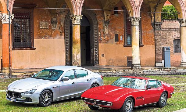 Maserati Ghibli Limousine Coupe Sportwagen