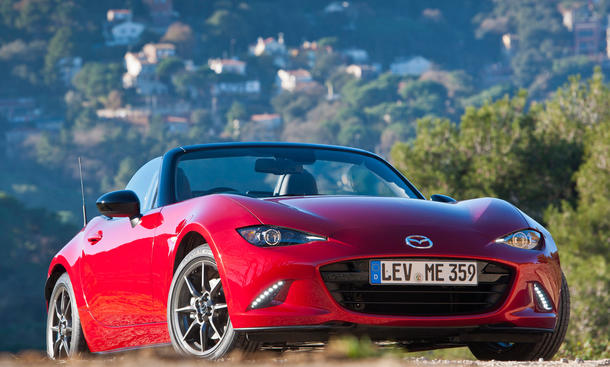 mazda mx-5 2015 nd roadster neuheiten front