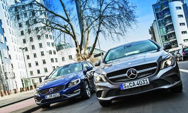 Mercedes Cla Shooting Brake Vs Volvo V60 Diesel Kombis Im