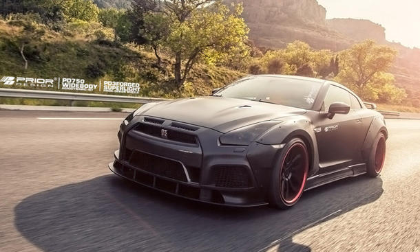 nissan gt-r tuning prior design r35 pd750 widebody supersportler
