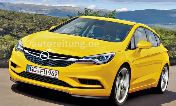 Opel Astra 2015 IAA Abnahmefahrt Fahrbericht