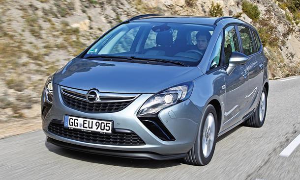 Opel Zafira Tourer 2.0 CDTI Van Diesel Vierzylinder Test