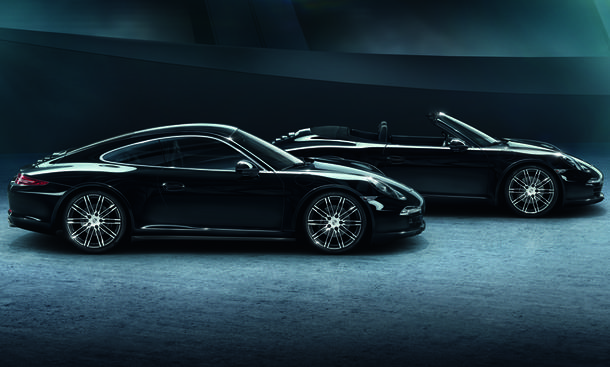 porsche 911 black edition sondermodell typ 991