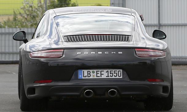 porsche 911 facelift mit turbomotoren zur iaa 2015 bild 8. Black Bedroom Furniture Sets. Home Design Ideas