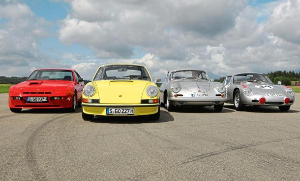 Porsche 911 RS 2.7 924 Carrera GT 356 B 60 Jahre Jubiläum