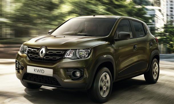 Renault Kwid 2015 Indien Crossover-Kleinwagen Preis