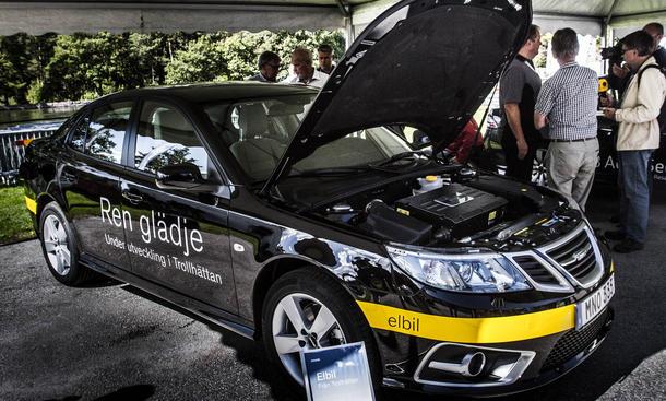 Saab 2015 Comeback Pläne China Investoren Wirtschaft Elektroautos