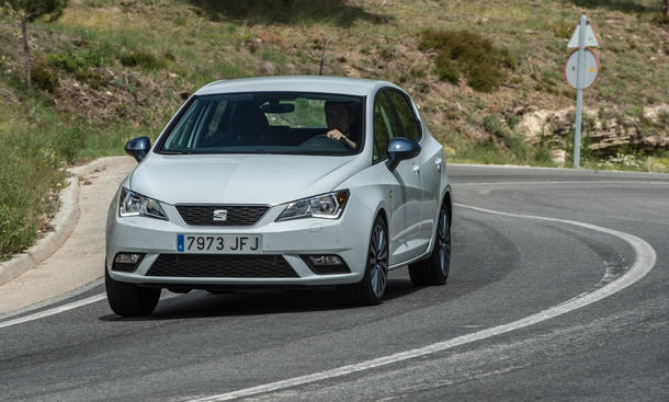 seat ibiza facelift 2015 fahrbericht kleinwagen neuheiten
