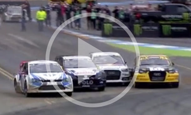 Video: Rallycross in Hockenheim