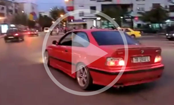 Video: Donuts mit dem E36