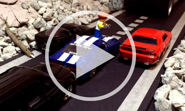 Fast and furious 7: Lego-Trailer