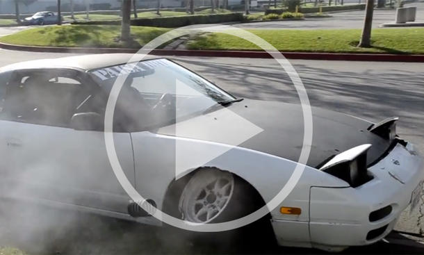 Nissan 240SX Drift-Fail