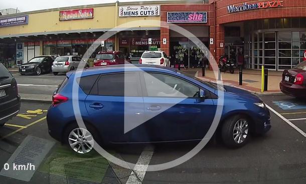 Toyota Corolla im Video