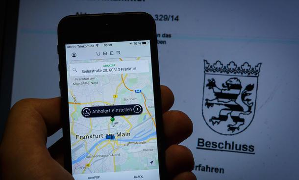 uberX Uber-Comeback Deutschland Taxi Gesetzeslage Personenbeförderung