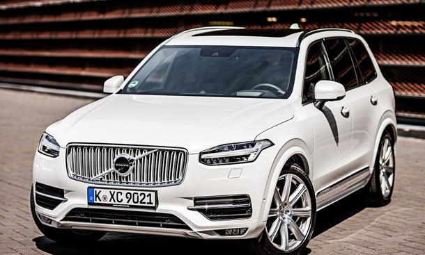 volvo xc90 2015 marktstart preise neue generation suv front